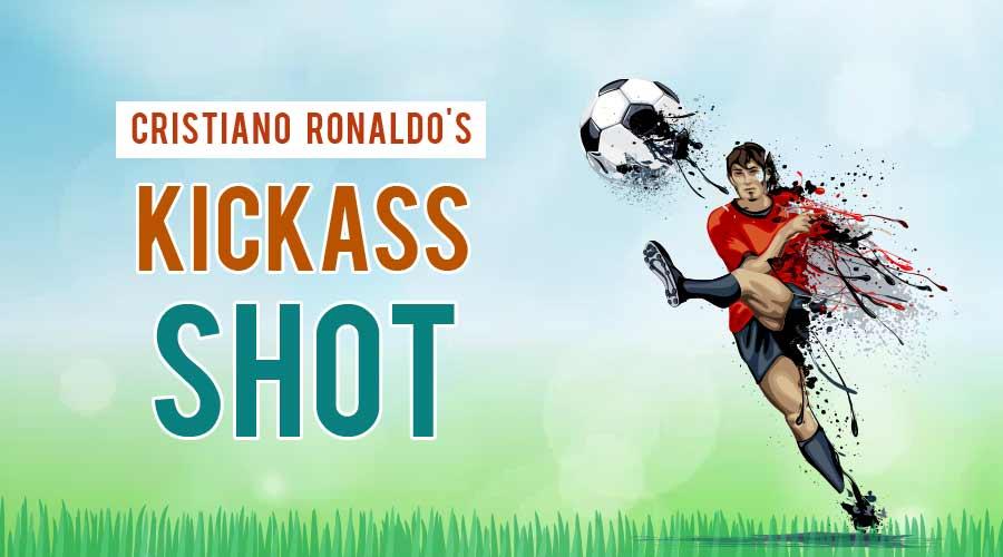 The Physics of it: Christiano Ronaldo's Awesome Kick