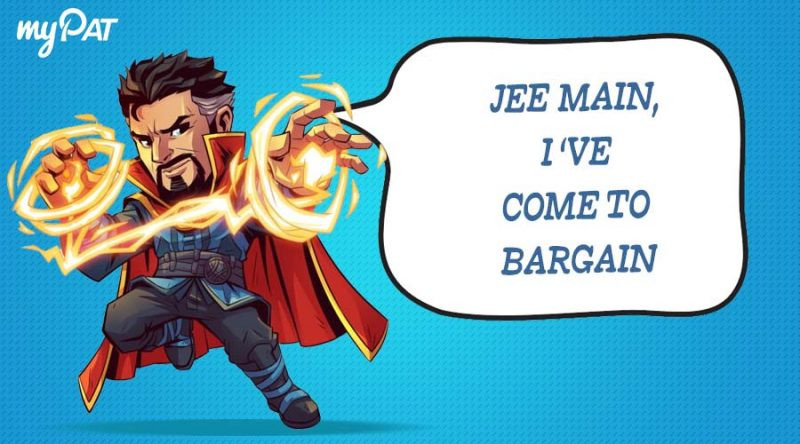 What if Doctor Strange ever decided to take JEE 2019?