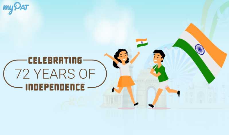 Celebrating 72 years of Independence!